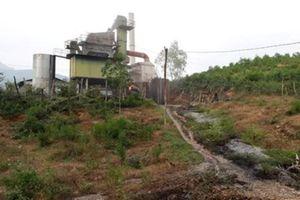 Quảng Trị: Xử phạt người quản lý trạm trộn để tràn 200 lít dầu thải ra môi trường