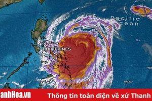 Bão Kamuri giật cấp 17 sẽ đi vào Biển Đông trong ngày 3-12