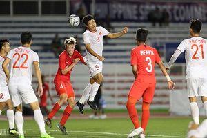 Bảng B bóng đá nam SEA Games 30: Thắng Singapore 1-0, U22 Việt Nam tiến gần hơn tới bán kết