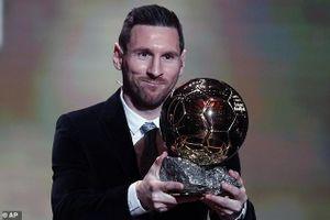 Messi giành Quả bóng Vàng 2019, lập kỷ lục 'vô tiền khoáng hậu'