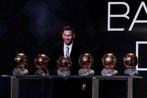 Messi rạng rỡ nhận Quả bóng Vàng lần thứ 6