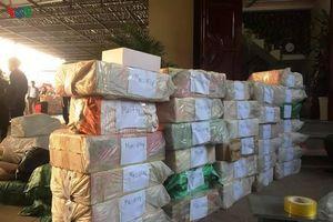 Công an Vĩnh Phúc bắt giữ gần 1 tấn pháo các loại