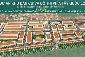 Hàng loạt dự án ở Thái Bình dính vi phạm 'khủng'