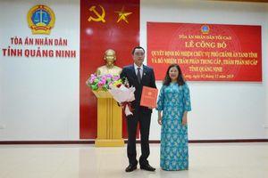 Quảng Ninh có tân Phó Chánh án Tòa án nhân dân tỉnh