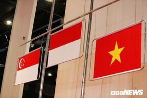 Ban tổ chức không hạ được cờ, VĐV Việt Nam bị hoãn trao HCV