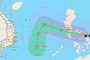 Siêu bão Kammuri đi vào Biển Đông, trở thành cơn bão số 7