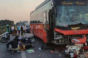 Tai nạn kinh hoàng trên cao tốc Hà Nội – Bắc Giang, 1 người chết thảm