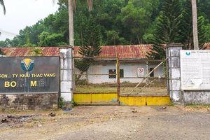 Vàng Bồng Miêu phá sản, Quảng Nam chi 12 tỷ để đóng cửa mỏ