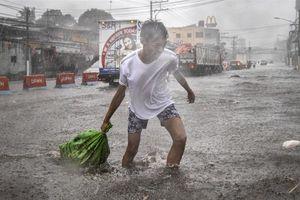 Bão số 7 đổi hướng sau khi càn quét làm ít nhất 17 người chết tại Philippines