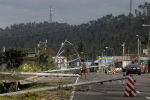Ít nhất 17 người thiệt mạng do bão Kammuri đổ bộ Philippines