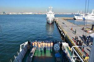 Cảnh sát biển Việt Nam luyện tập cứu nạn tại Nhật Bản