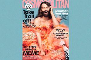 Chân dung người đàn ông lần đầu xuất hiện trên bìa tạp chí dành cho phụ nữ