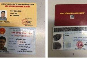 Hà Nội: Dùng thẻ nhà báo giả xin bỏ qua vi phạm giao thông