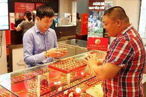 Giá vàng SJC tăng vọt 310 ngàn đồng/lượng