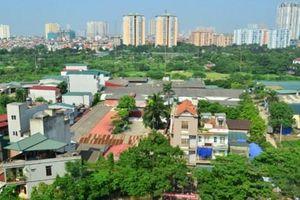 Hà Nội đề xuất tăng giá đất 15% so với dự kiến ban đầu là 30%