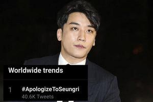 Vừa được chứng minh vô tội, fan đồng loạt hashtag yêu cầu 'cả thế giới' xin lỗi Seungri