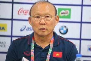 HLV Park Hang Seo: 'Chúng tôi sẽ có nhiều thay đổi ở trận gặp Thái Lan'