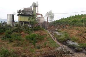 Quảng Trị: Xử phạt hành chính người quản lý trạm trộn bê tông làm tràn 200 lít dầu ra môi trường