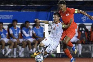 Cầu thủ U22 Singapore khiến Quang Hải rách cơ đùi là ai?