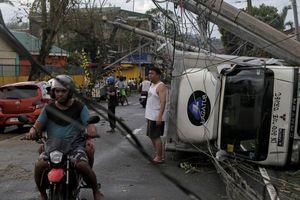 Bão Kammuri càn quét ở Philippines: Ít nhất 17 người chết