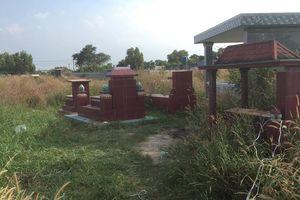 Xương người bị đốt trong nghĩa trang: Nghi nạn nhân bị giết rồi phi tang
