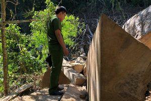 Thống kê lượng gỗ bị lâm tặc chặt trong rừng đặc dụng Nam Kar: 3 cơ quan, 3 số liệu