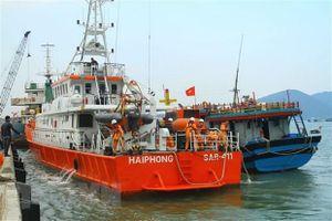 Vượt sóng to, gió lớn cứu 6 thuyền viên lênh đênh trên biển Nghệ An