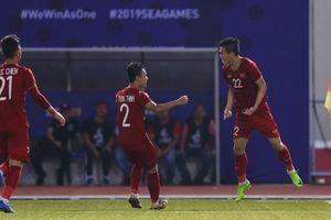 Tiến Linh lập cú đúp, U-22 Việt Nam bay vào bán kết SEA Games