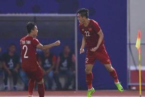 2 bàn thắng của Tiến Linh trong trận gặp U22 Thái Lan