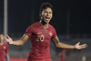 Thắng Lào 4-0, U22 Indonesia gặp Myanmar ở bán kết SEA Games