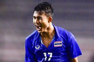 Tiền đạo 17 tuổi ghi bàn vào lưới U22 Việt Nam