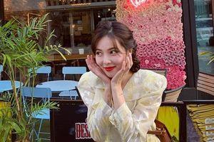 Không phải đồ hở hang, HyunA ngoài đời thích mặc váy áo hoa nữ tính