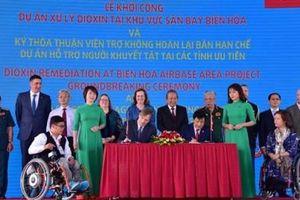 Mỹ hỗ trợ Việt Nam 65 triệu USD cho người khuyết tật