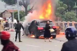 Khởi tố vụ án nữ tài xế xe Mercedes đâm liên hoàn khiến 1 người tử vong