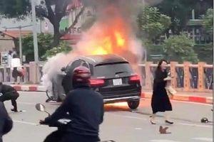 Thông tin mới nhất vụ nữ tài xế Mercedes gây tai nạn liên hoàn ở Hà Nội