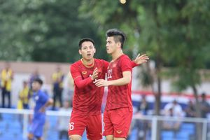 Tiến Linh đá phạt đền, gỡ hòa 2-2 cho U22 Việt Nam