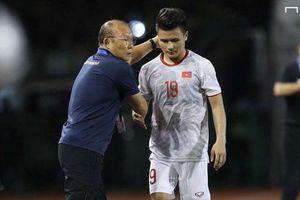 HLV Park Hang-seo báo tin vui về chấn thương của Quang Hải