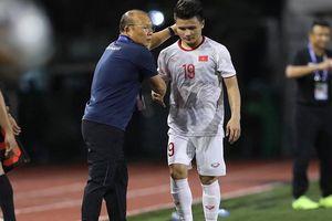 Quang Hải nói lời bất ngờ về chấn thương gặp phải ở SEA Games