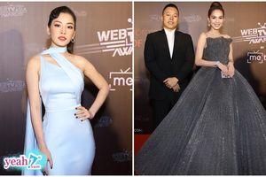 Chi Pu hóa quý cô sang chảnh, Ngọc Trinh lộng lẫy với đầm công chúa chặt chém dàn Sao trên thảm đỏ WebTVAsia Awards 2019