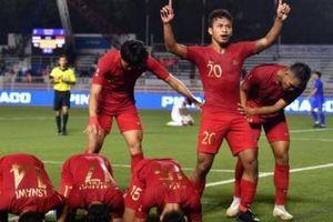 Thắng đậm U22 Lào, U22 Indonesia gặp Myanmar ở bán kết