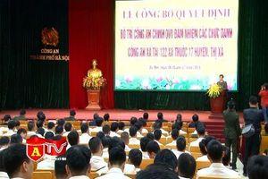 Hà Nội: Hơn 800 công an chính quy được bố trí đảm nhiệm các chức danh tại công an xã