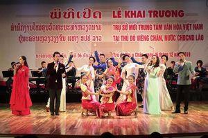Khai trương trụ sở mới Trung tâm Văn hóa Việt Nam tại Lào