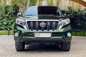 Toyota Land Cruiser Prado dùng 3 năm bán 1,88 tỷ ở Hà Nội
