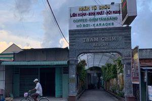 UBND huyện Bình Chánh xử lý nghiêm tổ hợp công trình vi phạm Tràm Chim Resort