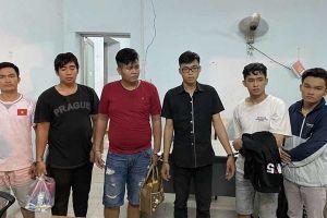 Băng choai choai táo tợn giả cảnh sát còng tay cướp hàng chục vụ ở Sài Gòn