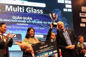 Startup MultiGlass cho người khuyết tật giành giải Nhất tại Techfest 2019