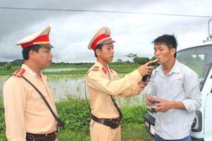 Đề xuất tăng mức xử phạt đối với lái xe có nồng độ cồn