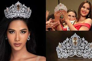 Miss Universe 2019 ra mắt vương miện 116 tỷ, khán giả 'ụp' vội lên đầu Hoàng Thùy xem hợp hay không