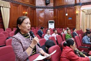 Đoàn đại biểu Quốc hội thành phố Hà Nội tiếp xúc cử tri tại quận Nam Từ Liêm