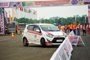 Toyota Wigo - chiếc xe được lựa chọn để đua Auto Gymkhana
